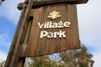 This is Village Park beach community sign