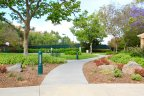This Trail in Emerald Heights Club house leads towards the basketball and Tennis courts.