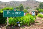 Pala Mesa Resort Road Side Marquee