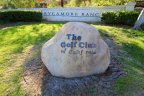 Sycamore Ranch and The Golf Club of California Sign