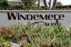 This is Windemere Community sign in La Jolla California