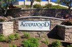 This is Arrowood Community Sign