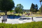 Children flock to their favorite spot which is Skate Board Section of the Park in Mesa Margarita Community