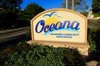 This is Oceana Oceanside Community Association Sign.