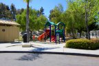 There are children play area close to the residential area of Rancho Del Oro