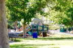 Children play area in community park of Bridlewood Country Estates