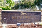 This is Bridlewood Country Estates sign in Poway California