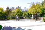 This is gated entrance to private Green Valley Estates Neighborhood
