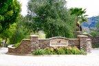 Saddlebrook Estates Community Sign in Poway California