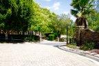 Entrance to private Saddlebrook Estates Community