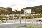 Community park with Basketball Practice courts