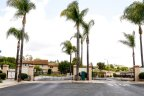 Entrance to gated townhomes The Chapala Community