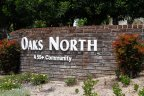 This is Oaks North Community Sign