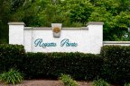Community Sign of Regatta Point in Rancho Bernardo California
