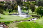 Golf Course fountain in The Greens Neighborhood