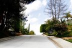 Residential street of The Trails in Rancho Bernardo California
