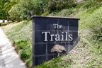 The Trails Marquee in community sign