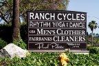 Del Rayo Estates Sign in San Diego California