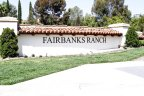 Community Sign of Fairbanks Ranch in San Diego California