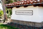 This is Fairbanks Ranch Neighborhood Sign