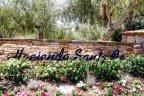 Hacienda Santa Fe Community Sign in San Diego California