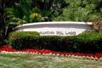 This is Rancho Del Lago Community Sign