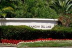 Community Marquee of Rancho Del Lago in San Diego California