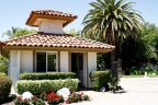 Visitors area in Rancho La Cima in San Diego California
