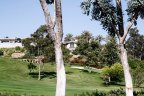 Rancho Valencia Home enjoys good view of the golf course greens
