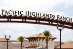 This is Pacific Highlands Ranch Sign near Airoso Community in San Diego California