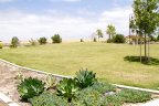 Beautiful lush Greens of the park in Arabella Community in San Diego California