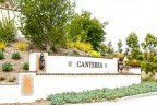 This is Canterra Neighborhood Sign in San Diego California