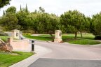 This is entrance of the Carmel Valley Golf Course Driveway