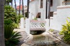 Beautiful water feature with cute little bridge in Casablanca Community