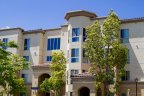 Modern Styled high rise Cortina Apartments in San Diego California