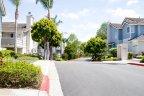 Fair view of the peaceful condominium Neighborhood in Del Mar Highlands in San Diego California