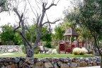 Del Sur Community Park with cozy sitting area