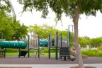 Residents of the Liberty Station enjoy access to children's park