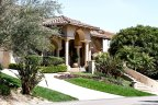 The homes of Meadows Del Mar are professional landscaped