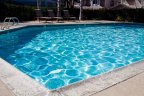 Residents of the Pacifica Neighborhood enjoy swimming in this beautiful pool with cool clear water