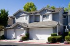 Two story home with three car garage is located in Pacifica in San Diego California
