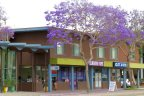 Retail center walking distance to the residential area of Point Loma Neighborhood in San Diego