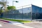 Residents of the Scripps Ranch community enjoy access to many facilities including tennis court with lights for night games.