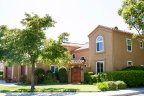 Luxury home resides on a corner lot of Senterra Neighborhood