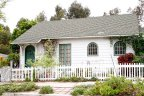 Cute Historic Home with white fences in South park Neighborhood