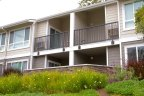 The Bluffs Condominium building with attached balcony offer good views.