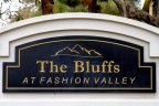The Bluffs at Fashion Valley Golf Course Sign