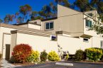 Wonderful architecture on the attached homes of The Grove in San Diego