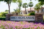 This is Torrey Highlands Apartments sign in San Diego California