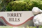 Torrey Hills community Sign in San Diego